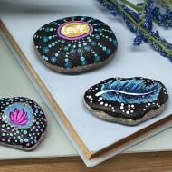 Boho Painted Rocks