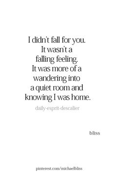 I miss feeling home, but it's time for be to find a new home within myself. Wishin you nothing but the best today and for the years to come. I love you, AGDFJ. That'll never change. Love Quotes For Him, Quotes To Live By, Me Quotes, Qoutes, The Words, Plus Belle Citation, Just For You, Love You, Hopeless Romantic