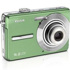Kodak Easyshare M320 9.2MP 3X Optical Zoom Digital Camera - Green