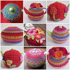 Why Didn't Anyone Tell Me?: Crochet teapot cozies