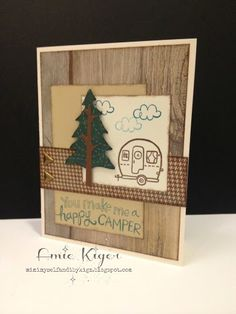 Mimi, Myself, and I: Happy Camper Card for Operation Write Home Workshop!