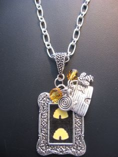 Bee Jewelry Necklace  Bee Necklace With Bee Hive by jewelryrow, $23.00 https://www.etsy.com/listing/78067219/bee-jewelry-necklace-bee-necklace-with