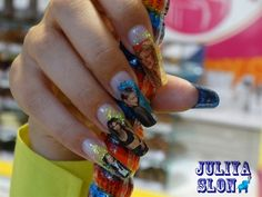 Day 116: Celebrities & Stilettos Nail Art - - NAILS Magazine