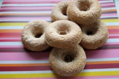 snickerdoodle donuts by Heather Christo, via Flickr