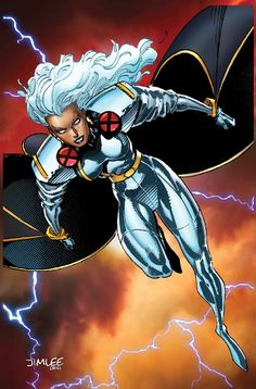 Marvel Turns Jim Lee's Old X-Men Trading Cards Into Variant Covers For July Comic Book Covers, Comic Books Art, Comic Art, Book Art, Storm Marvel, Ms Marvel, Captain Marvel, Storm Comic, Storm Xmen