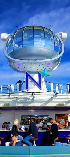 Quantum of the Seas | Features of the most technologically advanced ship in the world include transforming entertainment venues, wristbands that unlock doors, robotic bartenders, and super-fast wireless connectivity.