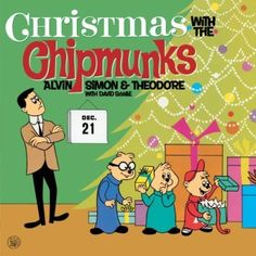 "Vintage Alvin and the Chipmunks Christmas Album. As a little girl, I looked forward to playing this every Christmas on our record player: ""Alvin."" LOVED it! Christmas Note, Christmas Albums, Christmas Past, Christmas Music, Retro Christmas, Little Christmas, Christmas Books, Xmas, Holiday Fun"