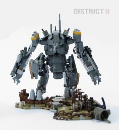 LEGO Mech | District 9 Lego Mecha Suit | Lega Nerd THIS IS MY ALL TIME FAVORITE LEGO MECH EVER