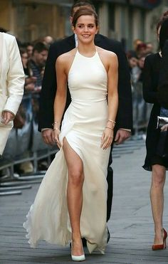 Emma Watson - Wedding Dress