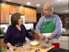 "Mary Ann Esposito visits Boston's Mayor Thomas Menino to celebrate the ""Feast of the Seven Fishes."""