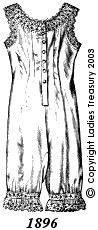 1896. undergarments for Helena