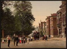 Maliebaan Utrecht, 1890 - 1900. Foto: Flickr