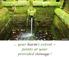 ... your #harm's extent ~ #points at your provided #stowage ! ( #Samara )