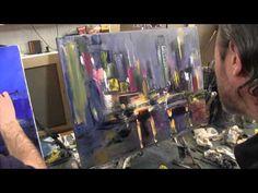 Художник Игорь Сахаров, как научиться рисовать город, уроки рисования - YouTube