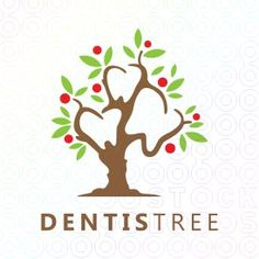 Dentistree+logo Make Your Own Logo, Create Your Own, Create Yourself, Premium Logo, Logo Maker, Logo Templates, Dental, Logo Design, Layout