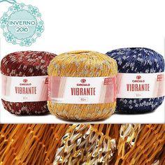Novidades na loja! Conheça o fio Vibrante da Círculo,  com aplicações de grandes pontos de brilho!  É ideal para peças em tricô e crochê. Encontre no www.armarinhosaojose.com.br #artesanato #croche #trico #circulo #artemanual #armarinhos #saojosearmarinho #circuloprodutos #inverno2016 #novidades #handmade #feitoamao #crocheteira #crochebrasil