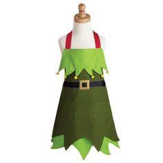 Christmas Elf Children's Apron