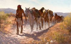 Howard Terpning | Howard Terpning's Plunder From Sonora Brings $962,500 at Auction ...