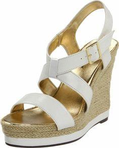 Amazon.com: Michael Antonio Women's Galin Wedge Sandal: Michael Antonio: Shoes
