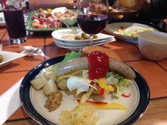 Winery lunch in Nagano