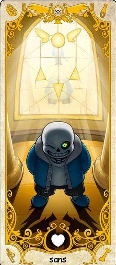 XX - Judgement: Sans, Tarot card