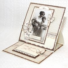 Vintage card by Jenny, featuring the Sweet Baby collection