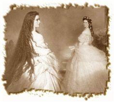 Sisi, Kaiserin Elisabeth von Österreich, 1864.