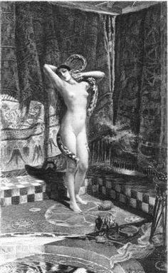 Salammbô illustrated by Rochegrosse