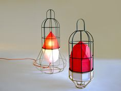 'urban camper lighting objects' by chieh-tine huang