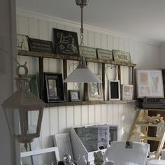 4 Creative Wall Decoration Ideas, Old Ladders for Modern Wall Decor- Think I will be doing this :)