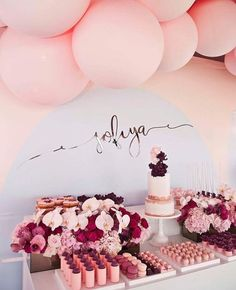 Breathtaking 50+ Quinceanera Decorations for Your Wedding https://fazhion.co/2017/07/18/50-quinceanera-decorations-wedding/ They are one of the most important Quinceanera decorations. 19th Birthday, Unicorn Birthday Parties, First Birthday Parties, First Birthdays, Birthday Ideas, Girl Baby Shower Decorations, Vintage Party, Fun Desserts, Personalized Wedding