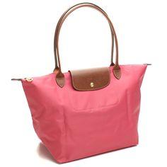 Longchamp Le Pliage Large Big Shopper -- Malabar Pink