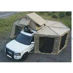 batwing awning | The Canvastent with Polygon Awning Room (WIN204) - China Car Tent,Tent