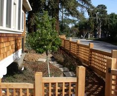 Front yard fence and gate