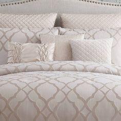 Glam Bedding, Bedroom Comforter Sets, Glam Bedroom, Ruffle Bedding, Bedroom Colors, Luxury Bedding, Bedroom Decor, Bedroom Ideas, Queen Comforter Sets