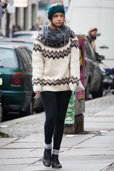 Berliners express their fashion energy on the street.