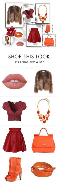 """confessions of a shopaholic"" by srishti-kar on Polyvore featuring Komar, Lime Crime, Related, Funlayo Deri, Dolce&Gabbana, Gucci, Maison Margiela, colours, pop and shopaholic"