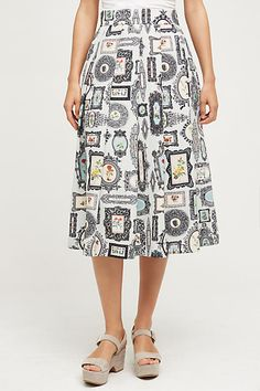 Framework Midi Skirt - anthropologie.com