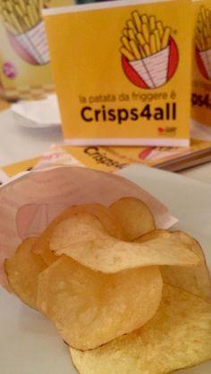 Crisps4all, la chip più croccante e dorata che ci sia
