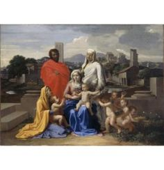 Holy Family with Saints Anne, Elizabeth and John, 1649, National Gallery of Ireland, Dublin