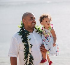 Maile Ti Groom's Lei with Tuberose Wrap + Green, Purple & White Orchid Child's Lei