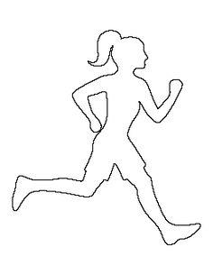 Running Girl Pattern