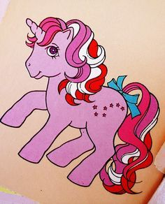 little pony vintage galaxy