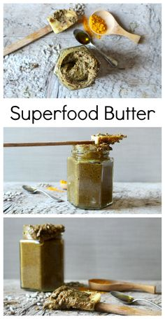 Superfood Nut and Seed Butter, made with 10 different nuts, seeds and superfoods. Now you don't have to choose what kind of nut butter to have! #nutbutterlover #vegan #superfood