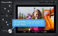 CameraSim web app