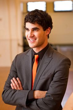 Darren Criss - Absolutely Beautiful in that orange <3