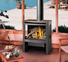 An Avalon Cypress Gas Stove From Vancouver Fireplaces We Also Build Custom For Builders Contractors And Renovators