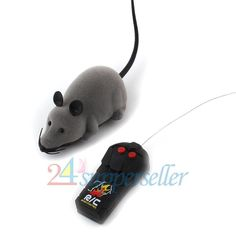 Dog Toy Remote Control Mouse