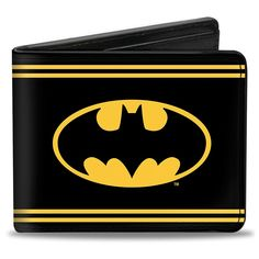 Buckle Down Mens DC Comics Batman Shield Billfold Wallet ** Continue to the product at the image link.