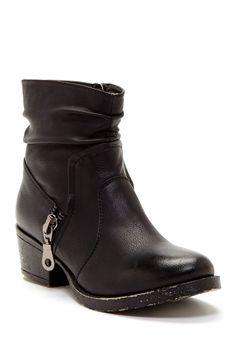 Elegant DbDk Merride Zip Detail Bootie by Elegant Footwear on @nordstrom_rack